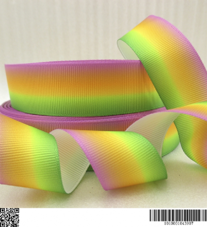 1 METRE RAINBOW OMBRE RIBBON SIZE INCH BOWS HEADBANDS BIRTHDAY CAKE HAIR CLIP CARD MAKING PLAQUES